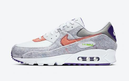 Nike Air Max 90 Recycled Jerseys Pack White Electric Green Court ...