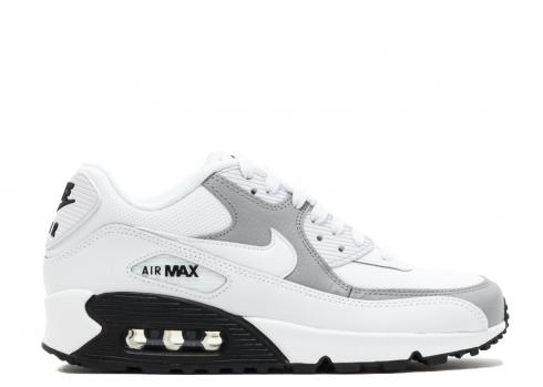 Wmns Air Max 90 Black White Wolf Grey 325213 126 Sepsport
