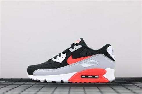 Nike Air Max 90 Essential Wolf Grey Rush Pink Volt White