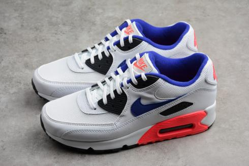 Nike Air Max 90 Essential Wolf Grey Challenge Red White