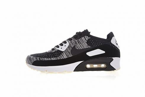 Nike Air Max 90 Ultra 2.0 Flyknit Oreo White Black 875943 001