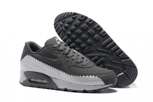 9d123aed81aa9 Prev Nike Air Max 90 Woven Men Training Running Shoes Cool Grey White 833129 -009