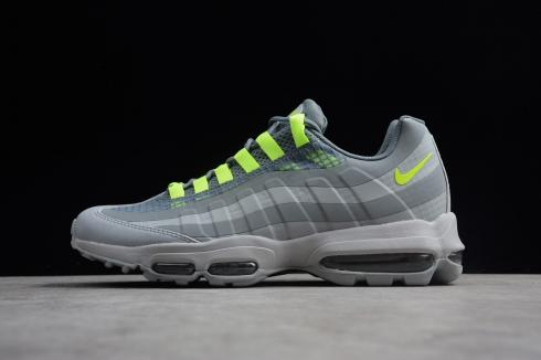 Nike Air Max 95 Ultra Se Wolf Grey Volt Cool Grey Ao9566 002