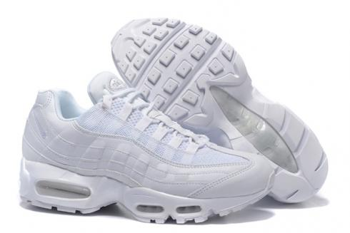 online retailer 3be71 3cb74 Nike Air Max 95 White Men Shoes Pure White 649048-109