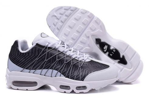 NIKE Air Max 95 Ultra JCRD White Black Grey Running Sneaker 749771 100