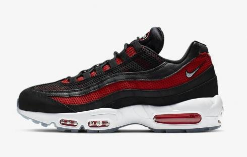 Nike Air Max 95 Essential Black University Red Reflect Silver White 749766 039