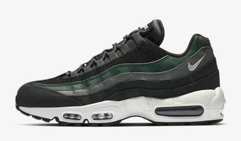 Mens Nike Air Max 95 Essential Black Green Trainers Running Shoes 749766 006 749766 006