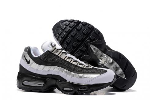 Nike Air Max 95 Essential Wolf Grey Black Men Shoes 749766