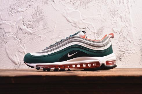 Nike Air Max 97 Green White Red Shoes Casual Sneakers 921522 300 Sepsport