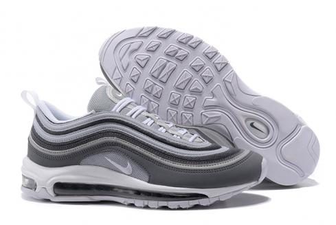 Nike Air Max 97 Running Men Shoes Deep Blue Grey White Silver