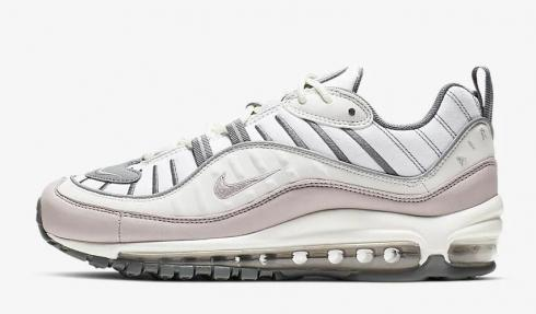 Nike Air Max 98 Summit White Cool Grey Reflect Silver Violet Ash AH6799 111