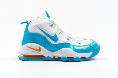 Nike Air Max Uptempo 95 White Blue Fury Canyon Gold CK0892-100