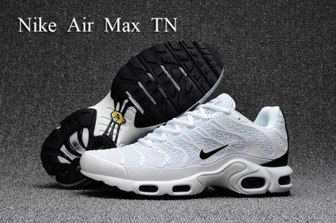 check out amazing price 100% quality Nike Air Max Plus TN KPU white black Men Sneakers Running Shoes 604133-030