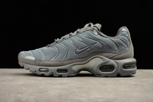 Nike Air Max Plus TXT Tuned 1 Tn Triple Grey Anthracite Mens Trainers 647315 098