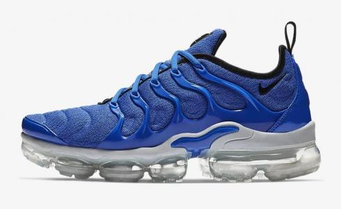 big discount super cute buy cheap Nike Air VaporMax Plus Game Royal Wolf Grey Racer Blue Black 924453-404