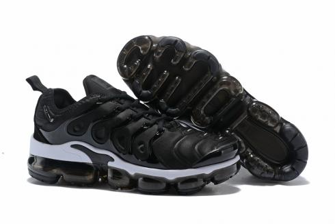 wholesale sales reputable site sneakers for cheap Nike Air Vapormax TN 2018 Plus TN Running Shoes Unisex Black White