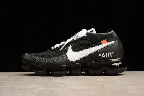 the latest 7ea04 17c61 2018 Off White X Nike Air Max Vapormax Men Running Shoes Black AA3831-001