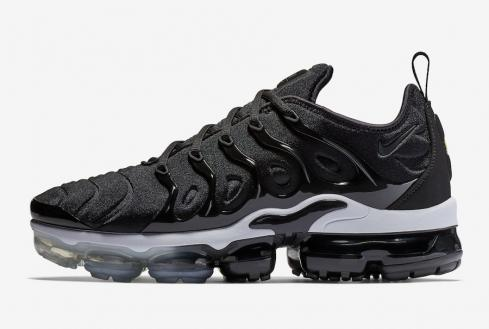 pretty nice 10ff8 e43d8 Nike Air Vapormax Plus Mens Black White Running 924453-010