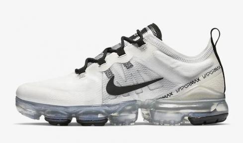Nike Air VaporMax 2019 White Black Metallic Silver Pale Ivory AR6632-100