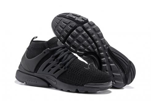 Nike Air Presto Flyknit Ultra All Black Men Running Shoes 835570-002