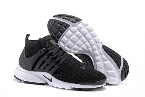 Nike Air Presto Flyknit Ultra Black White Running Shoes Sneakers 835570-001