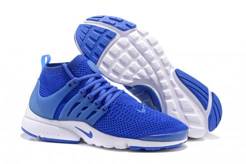 pretty nice edd2d 78377 Nike Air Presto Flyknit Ultra Racer Blue White Men Women Shoes Sneakers  835570-400