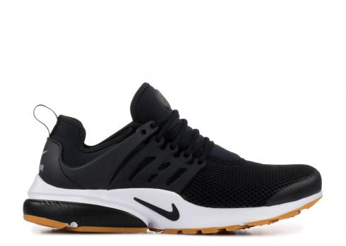 Nike Air Presto Black White Gum Yellow 878068-005