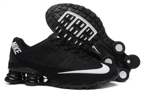 bas prix 8f9cf ace80 Nike Shox Turbo 21 KPU Men Shoes Sneakers Total Black White