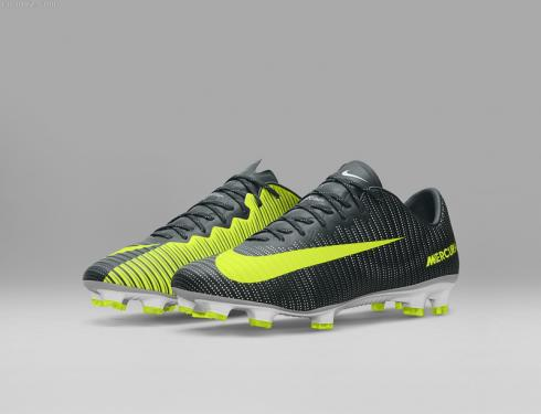 meilleure sélection e66ff a63f0 Nike Mercurial Superfly CR7 FG Low Soccers Seaweed Volt Hasta White