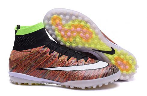 Nike Mercurial X Proximo Street TF Turf Multi Color Soccers Cleats 718777-010