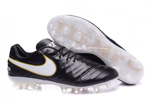 Nike Tiempo Legend VI FG Soccers Boots Radiant Reveal Black White Gold