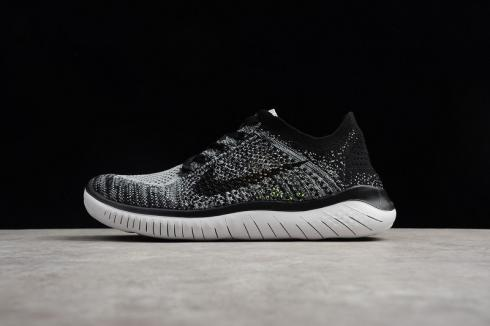 2c542d94ef0 Prev Nike Free RN Flyknit 2018 Mens Running Pure Platinum Black Anthracite  942838-101
