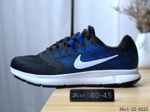 more photos huge sale vast selection Nike Air Zoom Span 2 Black White Deep Royal Blue 908990-005