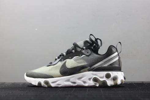 Nike Epic React Element 87 Undercover Anthracite Black White AQ1090 001