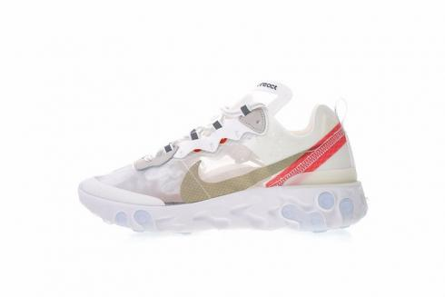 2c4c5af158252 Prev Nike React Element 87 Rush Light Sail Orange White Bone AQ1090-100