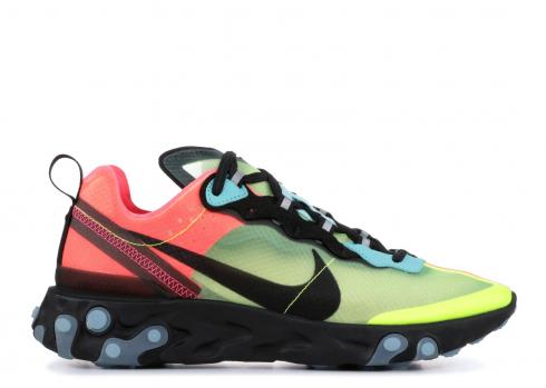 Nike React Element 87 Volt Racer Pink AQ1090-700