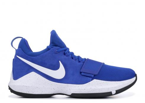 Nike PG 1 Mens Game Royal Paul George Basketball Shoes 878627-400