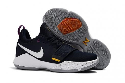hot sale online ce1a3 4c988 Nike Zoom PG 1 EP Paul Jeorge Year One gray white Men ...