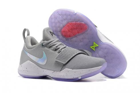 c4e396f6e Prev Nike Zoom PG 1 EP Paul Jeorge Year One gray white Men Basketball Shoes  878628-