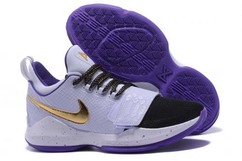 finest selection 44995 ad101 Nike Zoom PG 1 The lakers purple Men Basketball Shoes 878628-007 ...