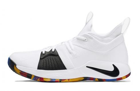 Nike PG 2 March Madness White Multi