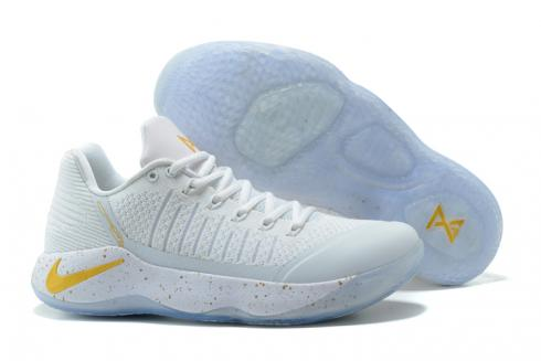 online store 29730 64d56 Nike Paul George PG2 Men Basketball Shoes Light Grey Yellow 878618