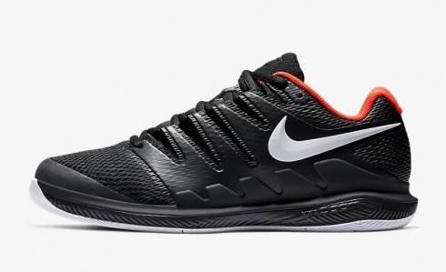 NikeCourt Air Zoom Vapor X Black Bright Crimson White AA8030-016