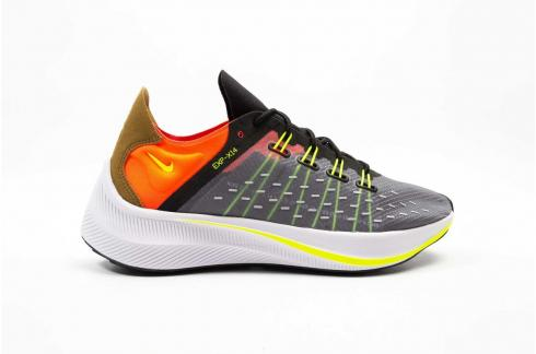 Nike EXP X14 Black Volt Solar Red Dark Grey Wolf Grey White AO3170 002
