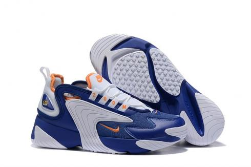 Nike Zoom 2K 2000 Blue White Orange AO0269-400