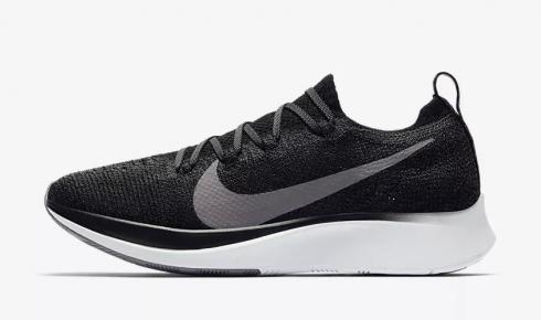 Nike Zoom Fly Flyknit Black White Gunsmoke AR4562-081