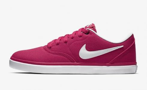 Nike SB Check Solarsoft Canvas Rush Pink Atmosphere Grey White 921463-601