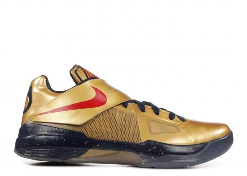 Zoom Kd 4 Gold Medal Gold White Red