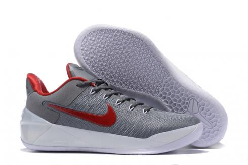 new concept 3be60 adcfa Nike Zoom Kobe 12 AD Grey Red White Men Shoes