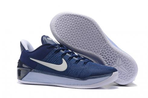 navy blue nike basketball shoes